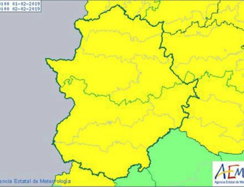 Avisos por lluvia, viento y nieve en Extremadura
