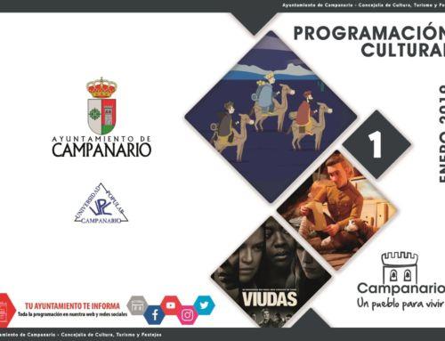 Programación Cultural 'Enero 2019'
