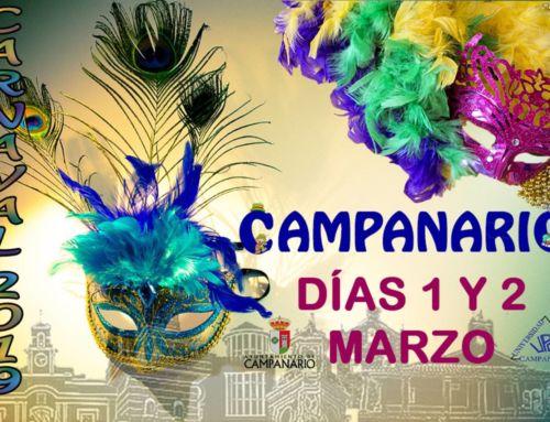 Abierta la inscripción para participar en los Carnavales 2019