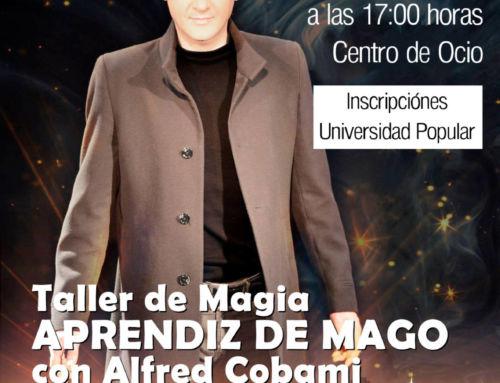 Viernes mágico en Campanario con Alfred Cobami