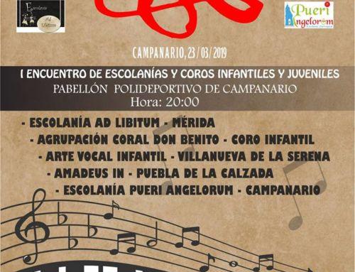 Encuentro de escolanías y coros en Campanario
