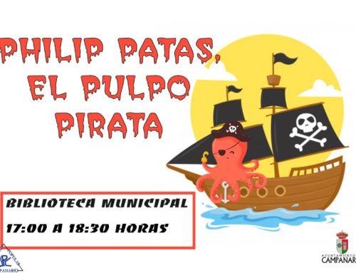 La hora del cuento – El pulpo pirata