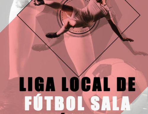 Liga local de fútbol Sala y fútbol 7 de primavera: abierto el plazo de inscripción