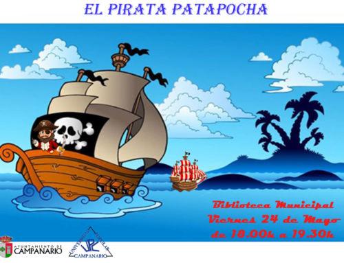 La hora del cuento – El pirata patapocha