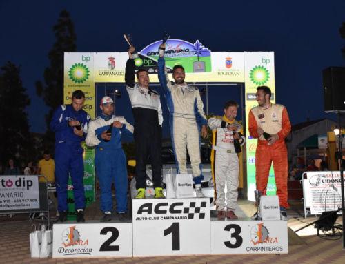 Noriego y Canelo se imponen en el VII Rally Interprovincial de Campanario