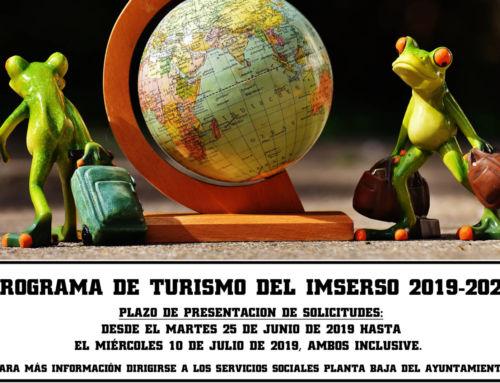 Arranca el plazo para participar en el Programa de Turismo Social del Imserso