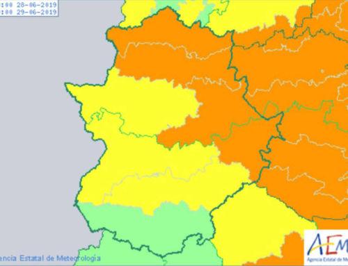 Este jueves y viernes alerta amarilla y naranja por altas temperaturas en Extremadura