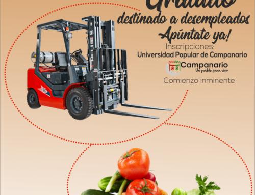 Curso de carretillero y manipulador de alimentos en Campanario