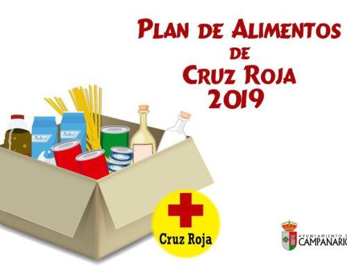 Plan de alimentos de Cruz Roja para familias con hijos entre 6 meses y 2 años