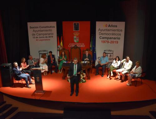 Elías López tomó posesión como alcalde de Campanario