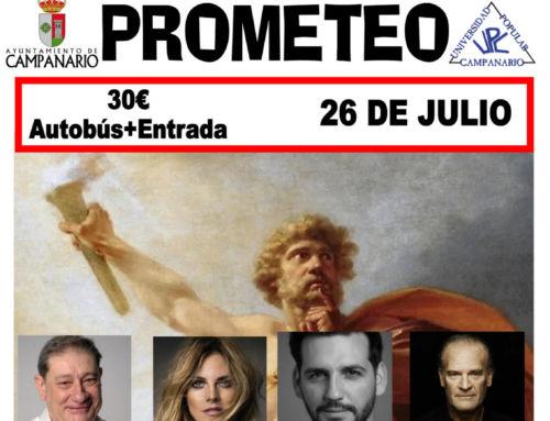 El Ayuntamiento organiza un viaje al Festival de Teatro Clásico de Mérida