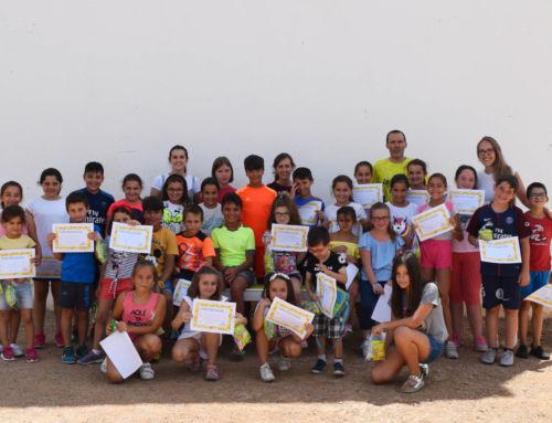 Finaliza el Campamento Urbano de Verano para medio centenar de niños