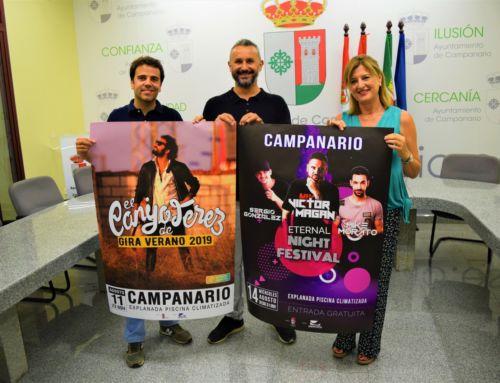 El Canijo de Jerez y 'Eternal Night Festival', platos fuertes de la Feria de Agosto