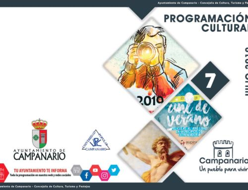 Programación cultural 'Julio 2019'