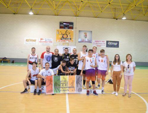 El 3×3 de baloncesto de Campanario reunió a 12 equipos