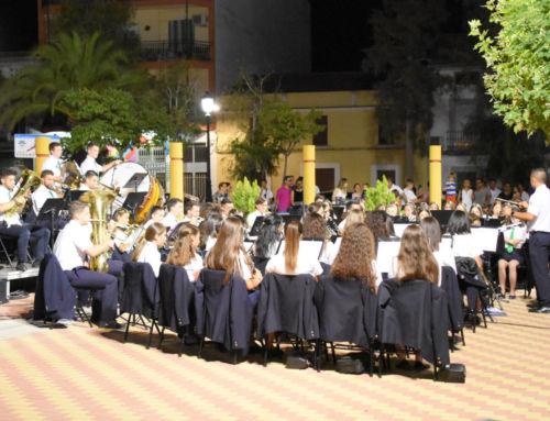 La Banda Municipal de Música emociona en su concierto veraniego