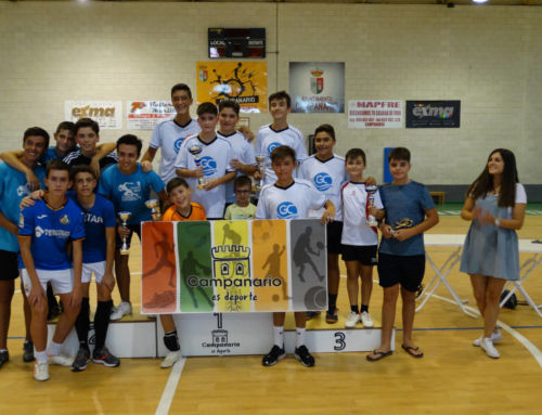 Distribuciones Gallardo se hace con el Torneo Juvenil de Fútbol Sala Local