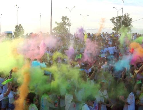 La Fiesta Holi y el Puzzle Summer Festival protagonizan el sábado de la feria