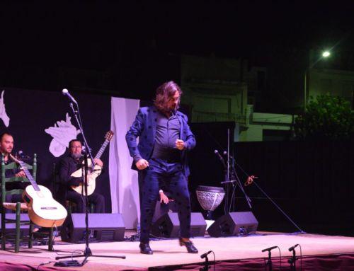 Campanario bailó al compás de 'El Farru' en la LVI Noche Flamenca