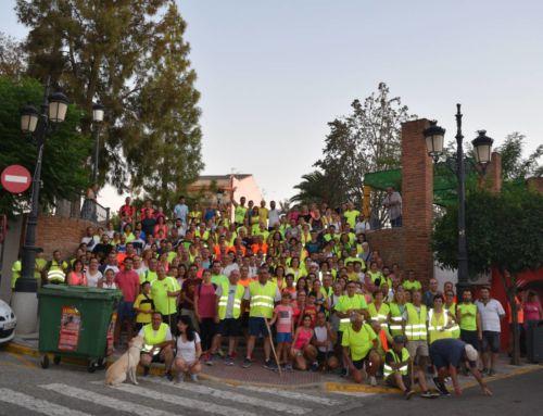 Un total de 260 personas participan en la Ruta Nocturna a Magacela 2019