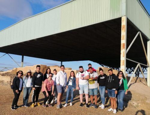 La Escuela profesional Diana de Mérida visita 'La Mata'