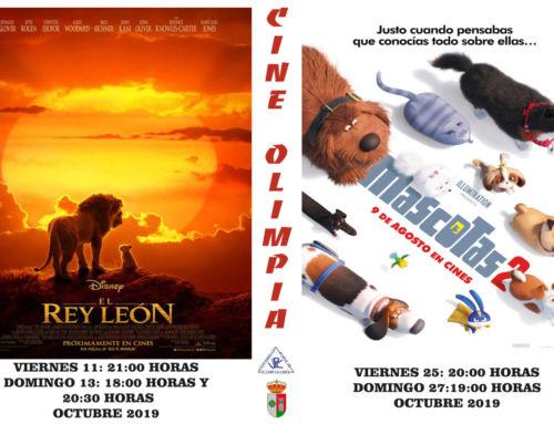 'El Rey León' y 'Mascotas 2' protagonizan la cartelera de octubre