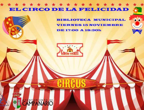 La hora del cuento – El circo de la felicidad