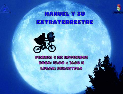 La hora del cuento – Manuel y su extraterrestre