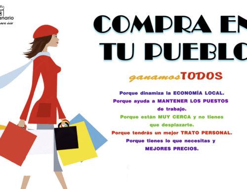 """VII edición de la campaña """"Compra en tu pueblo"""": abierto plazo de inscripción"""