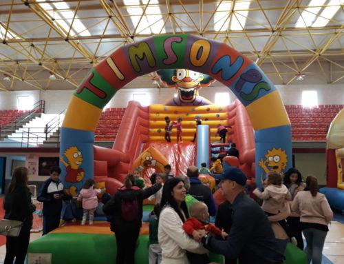 Cientos de niños participan en 'La Mañana Más Joven' de Campanario