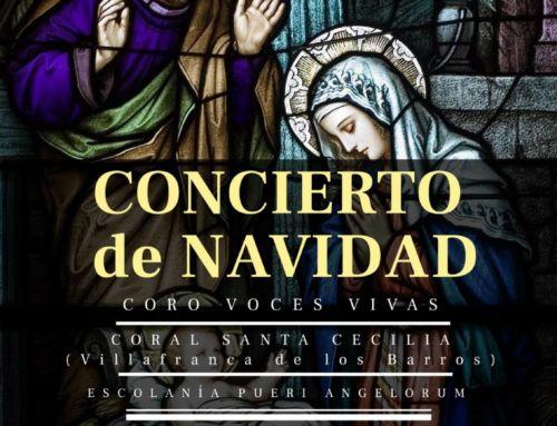 Concierto navideño de música coral en Campanario