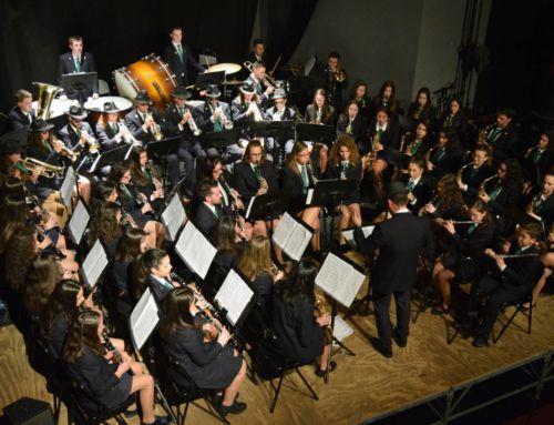 Magnífico concierto de Navidad de la Escuela y la Banda Municipal de Música