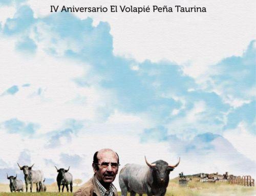 La Peña Taurina 'El Volapie' homenajea al ganadero Adolfo Martín