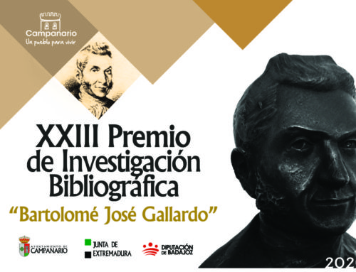 El XXIII 'Premio Bartolomé J. Gallardo' amplía hasta septiembre su plazo de entrega