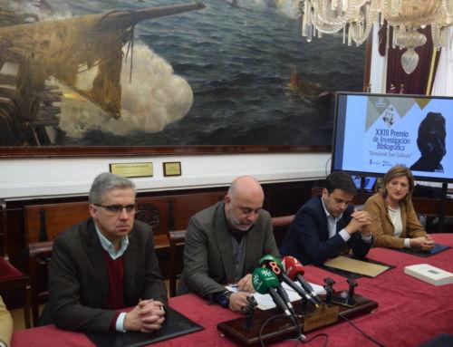 El Ayuntamiento de Campanario presenta en Cádiz el XXIII Premio 'Bartolomé J. Gallardo'