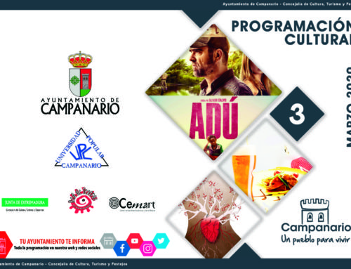 Programación cultural 'Marzo 2020'