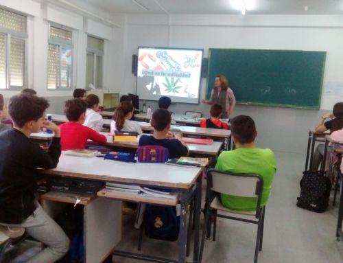Campaña de prevención de conductas adictivas con alumnos de Secundaria