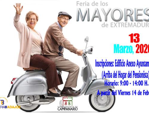 Abierta la inscripción para viajar a la Feria de los Mayores de Badajoz