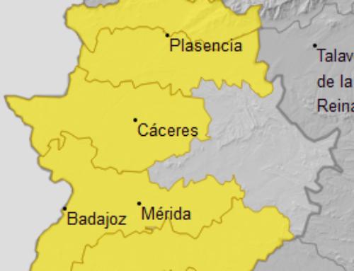 Alerta AMARILLA por lluvia en la comarca de La Serena