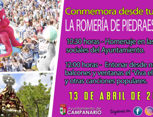 El Ayuntamiento promueve distintas iniciativas para conmemorar la Romería de Piedraescrita