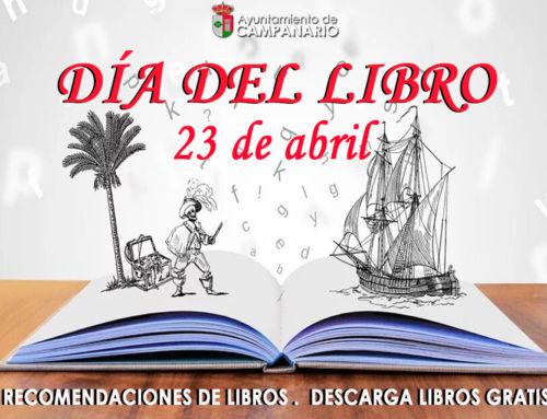 El Ayuntamiento de Campanario conmemora el Día Internacional del Libro