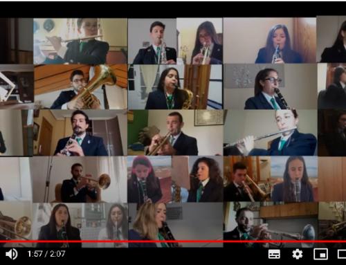 La Banda Municipal de Música rinde homenaje a la Virgen de Piedraescrita desde casa