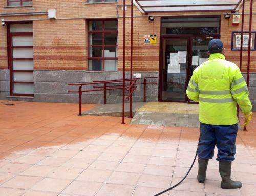 La Diputación de Badajoz continua con las labores de desinfección de Campanario