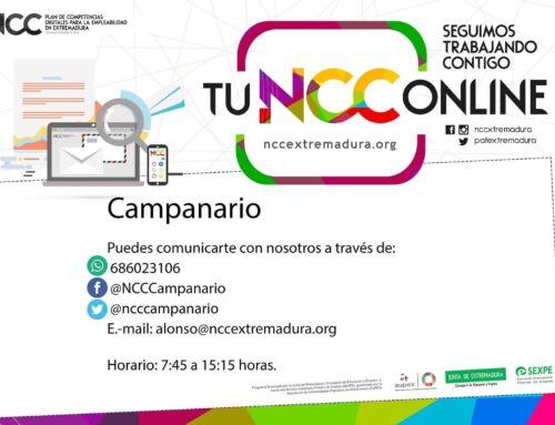 Servicio online del Plan de Competencias Digitales para la Empleabilidad de Extremadura
