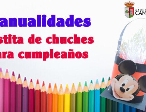 Manualidad para los más pequeños: Cestita de chuches para cumpleaños