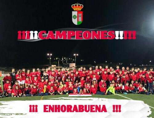 Enhorabuena a la cantera del C.F. Campanario por su temporada histórica