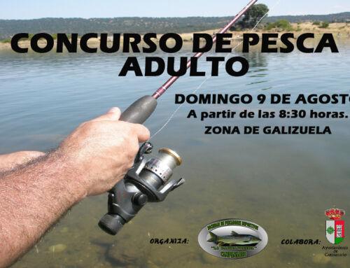 Nuevo concurso de pesca para adultos en la zona de Galizuela