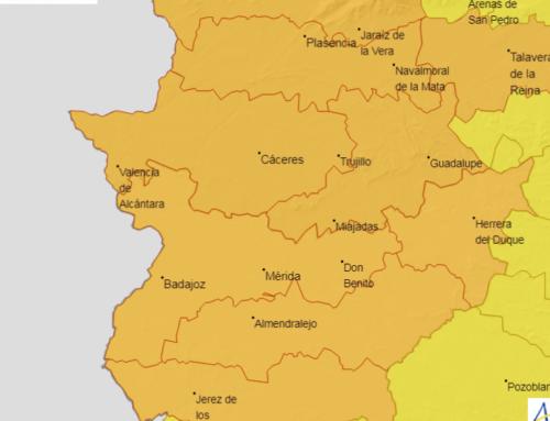 Alerta naranja por altas temperaturas en Campanario