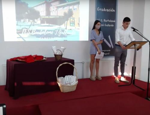 Graduación de los alumnos y alumnas del I.E.S. Bartolomé J. Gallardo. Promoción 2019/2020