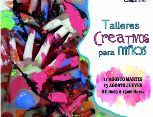 Crea Campanario ofrecerá a los más pequeños diversos talleres creativos infantiles